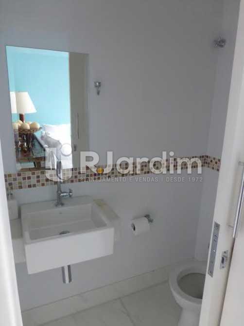 LAVABO - Apartamento 2 quartos para alugar Lagoa, Zona Sul,Rio de Janeiro - R$ 5.000 - LAAP20588 - 11