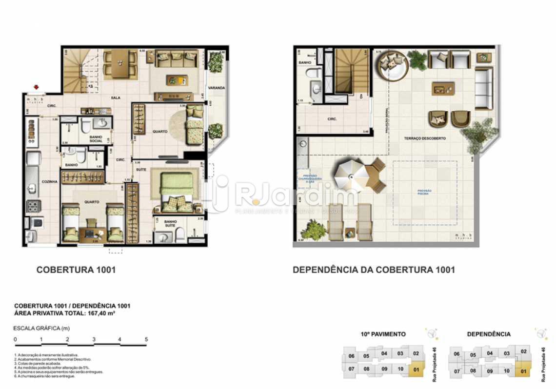 COBERTURA 1001 - Barra Wave, Apartamento, Padrão, Residencial, Barra da Tijuca, Zona Oeste, Rio de Janeiro RJ - LAAP30835 - 16