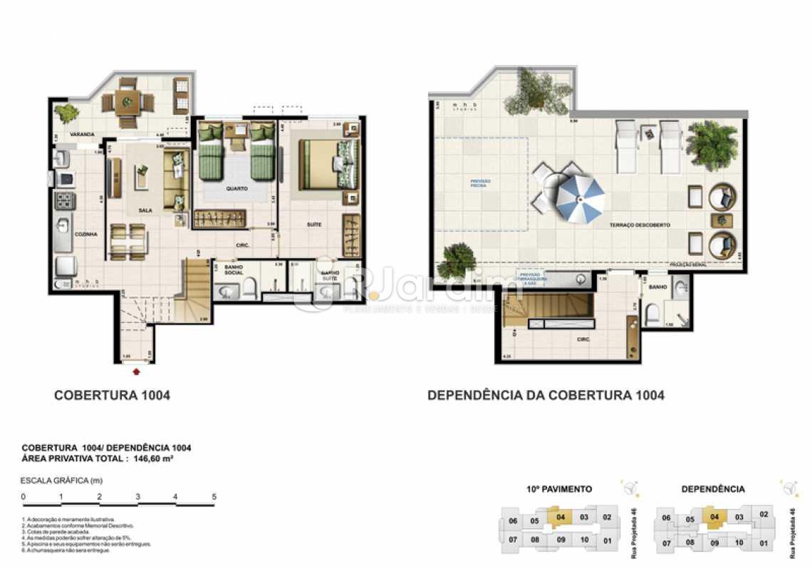 COBERTURA 1004 - Barra Wave, Apartamento, Padrão, Residencial, Barra da Tijuca, Zona Oeste, Rio de Janeiro RJ - LAAP30835 - 19