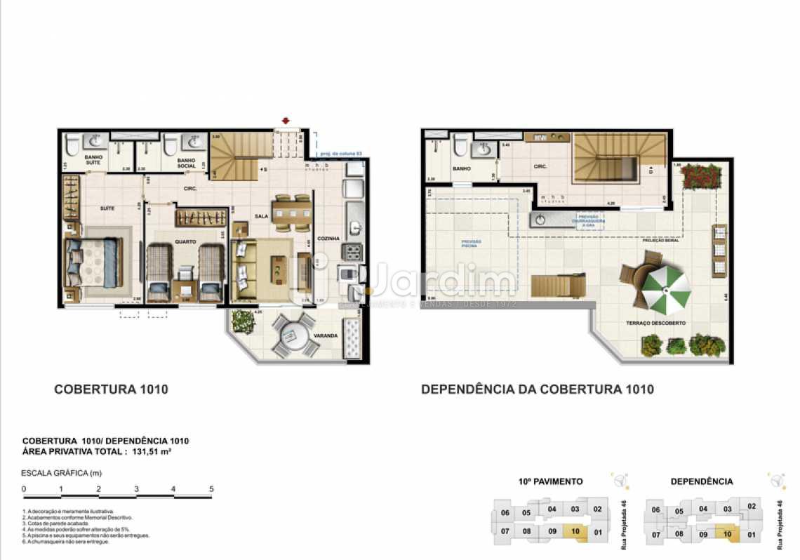 COBERTURA 1010 - Barra Wave, Apartamento, Padrão, Residencial, Barra da Tijuca, Zona Oeste, Rio de Janeiro RJ - LAAP30835 - 24