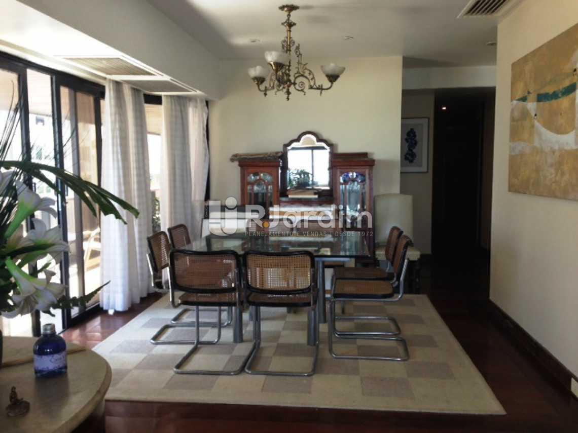 Sala jantar - Apartamento À VENDA, Leblon, Rio de Janeiro, RJ - LAAP30866 - 9