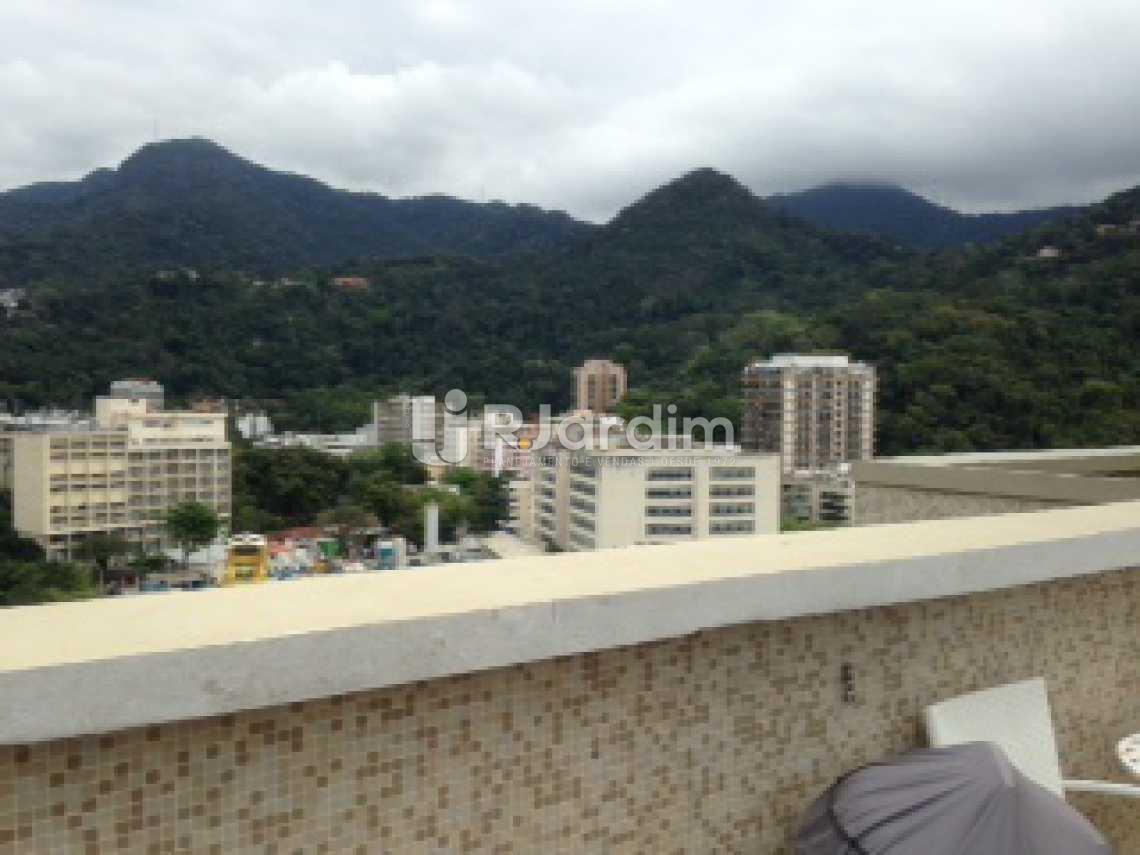 vista terraço - Cobertura À Venda - Gávea - Rio de Janeiro - RJ - LACO30118 - 6