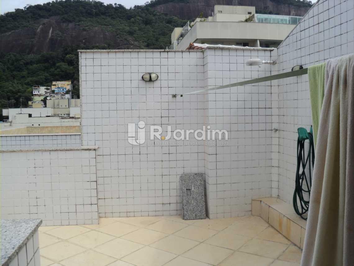 Ducha terraço - Cobertura À Venda Rua Arnaldo Quintela,Botafogo, Zona Sul,Rio de Janeiro - R$ 2.100.000 - LACO40066 - 25