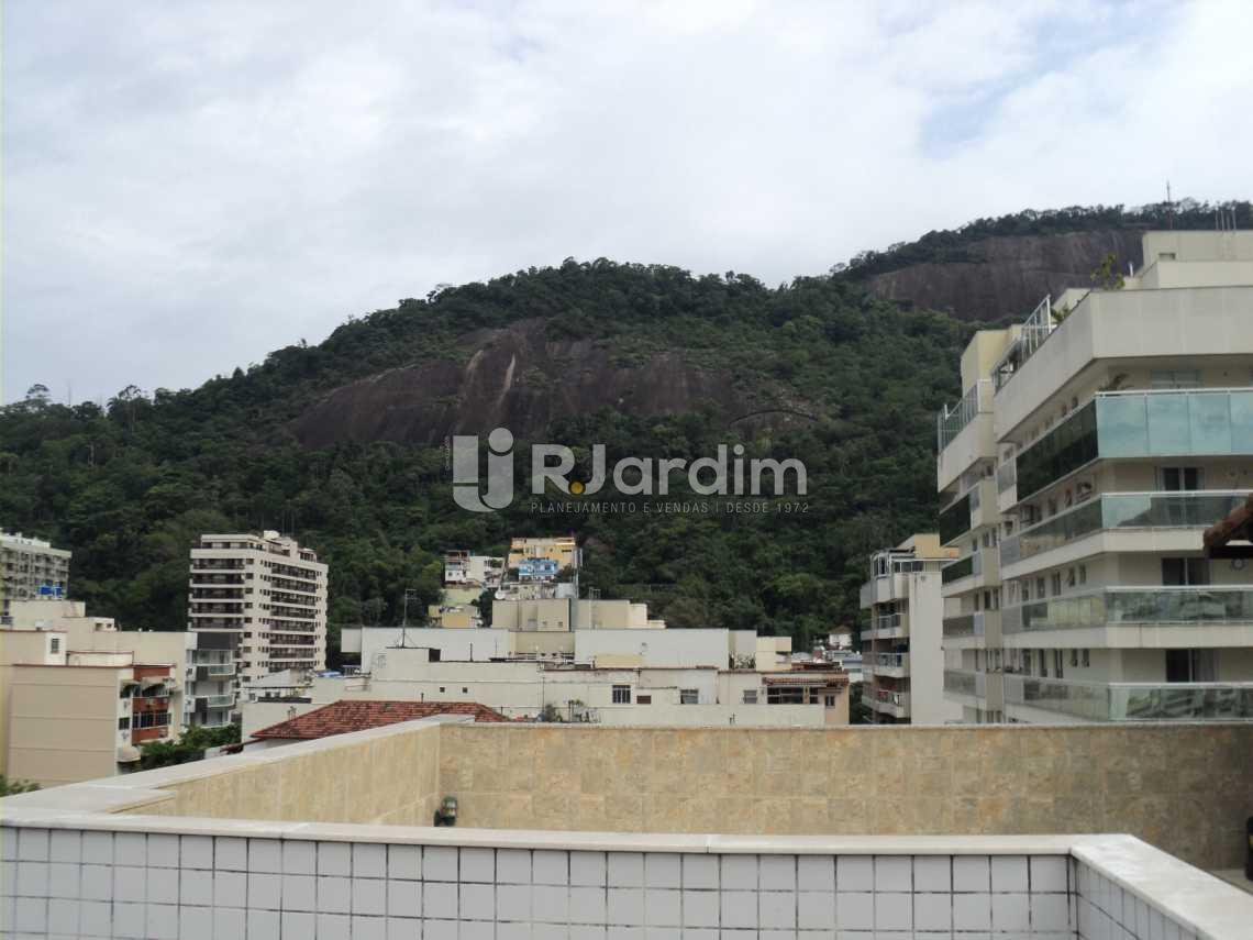 Vista terraço - Cobertura À Venda Rua Arnaldo Quintela,Botafogo, Zona Sul,Rio de Janeiro - R$ 2.100.000 - LACO40066 - 29