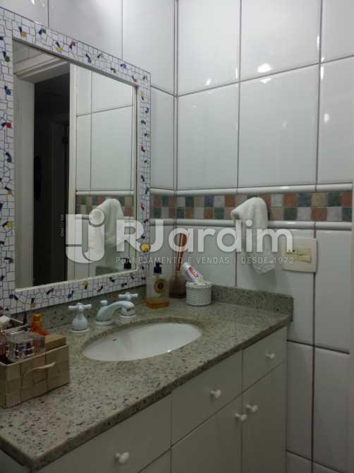 BANHEIRO SOCIAL - Apartamento / 3 Quartos / Jardim Botânico / Zona Sul / Rio de Janeiro RJ - LAAP30895 - 12
