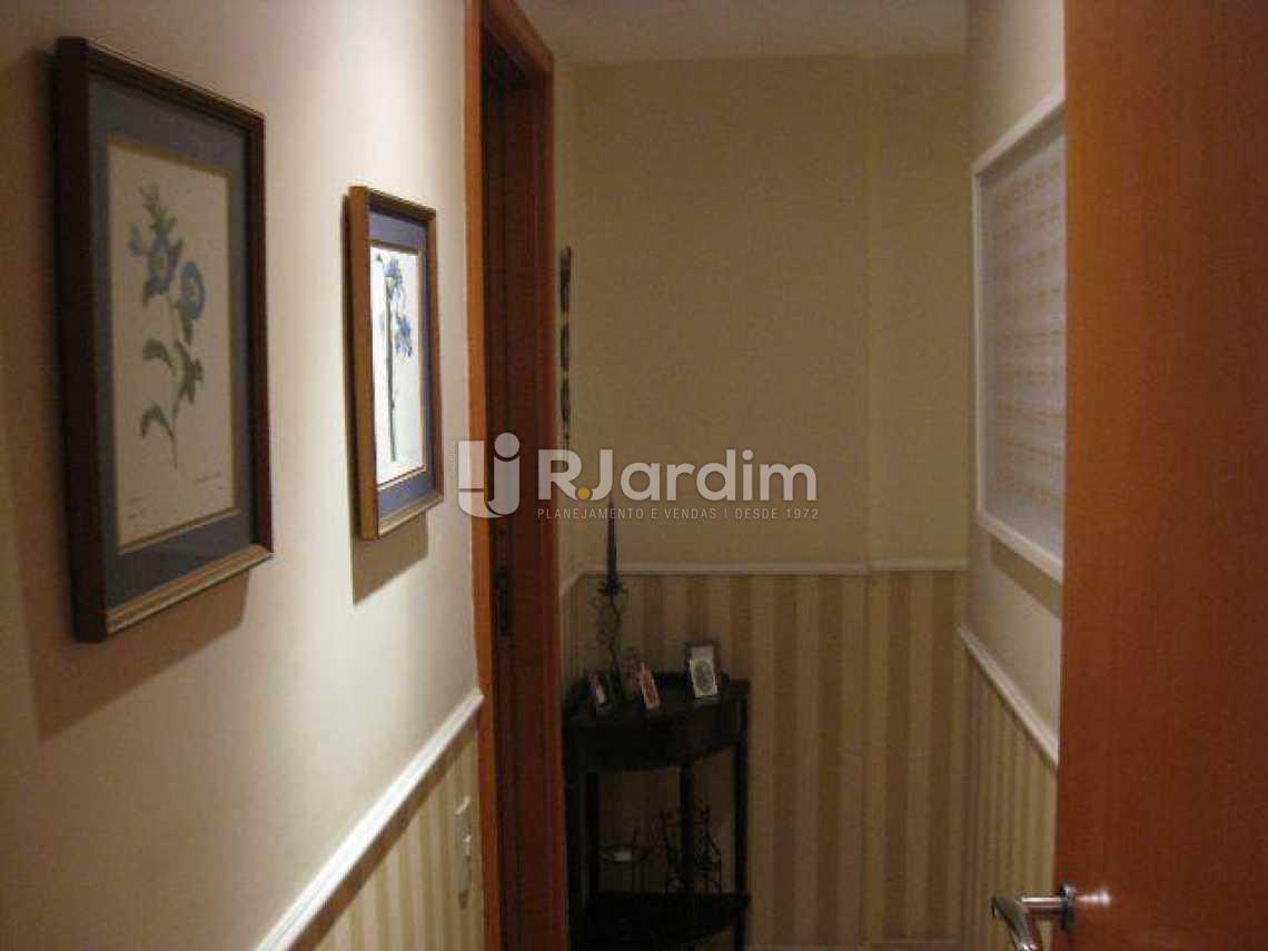 CORREDOR - Apartamento 4 Quartos Leblon Zona Sul Rio de Janeiro RJ - LAAP40388 - 9