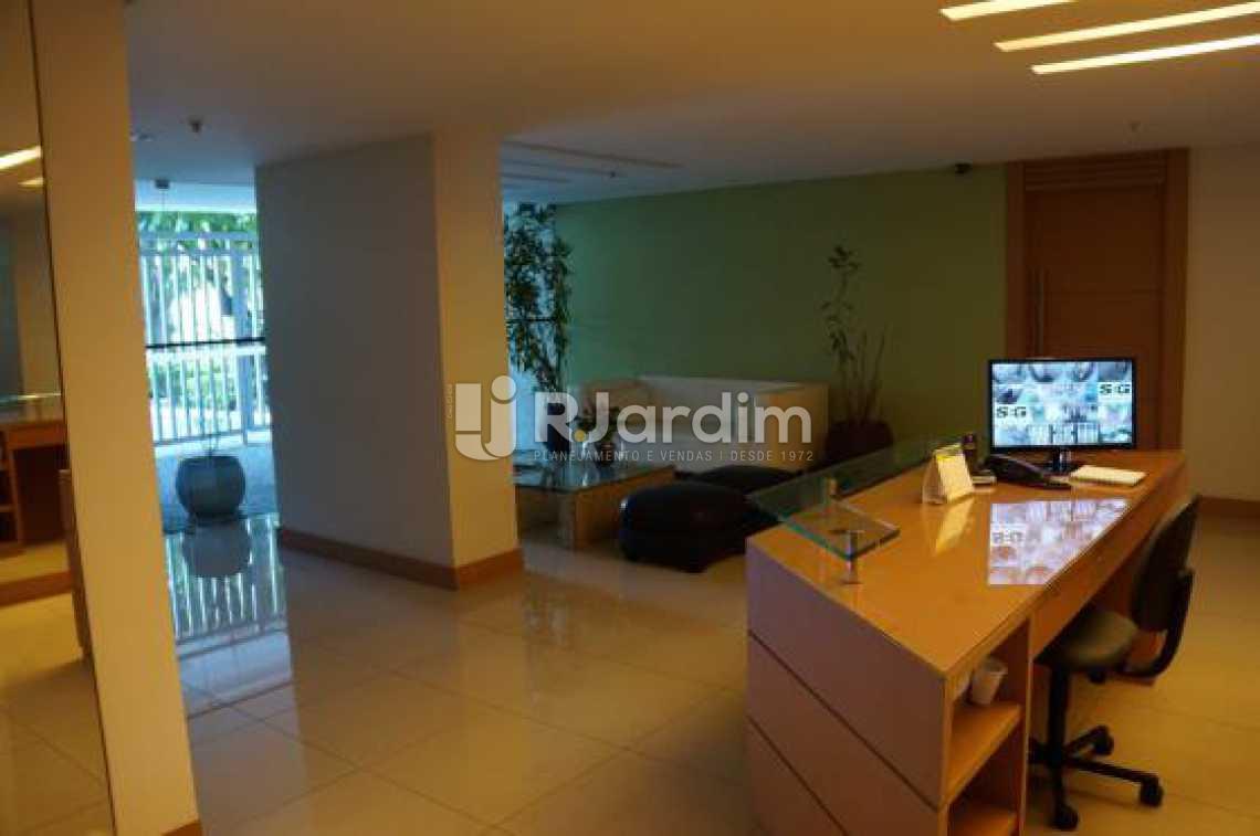 Portaria  - Compra Venda Avaliação Imóveis Apartamento Lagoa 2 Quartos - LAAP20633 - 3