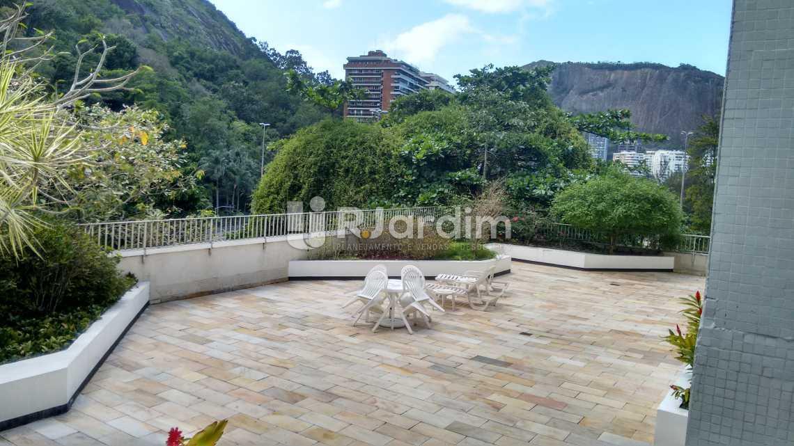 área externa /salão de festas  - Compra Venda Avaliação Imóveis Apartamento Lagoa 2 Quartos - LAAP20633 - 28