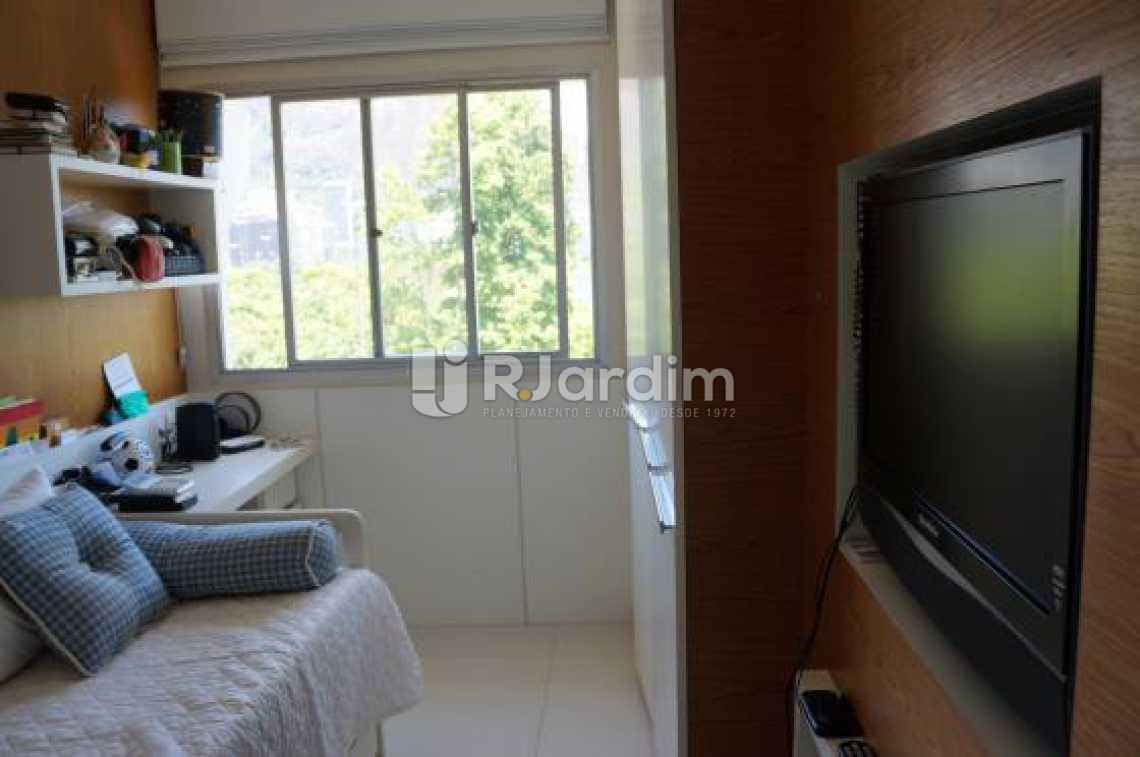 Segundo quarto  - Compra Venda Avaliação Imóveis Apartamento Lagoa 2 Quartos - LAAP20633 - 18