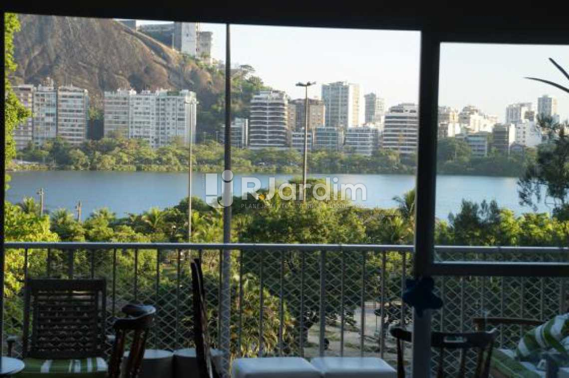 vista varanda / sala  - Compra Venda Avaliação Imóveis Apartamento Lagoa 2 Quartos - LAAP20633 - 6