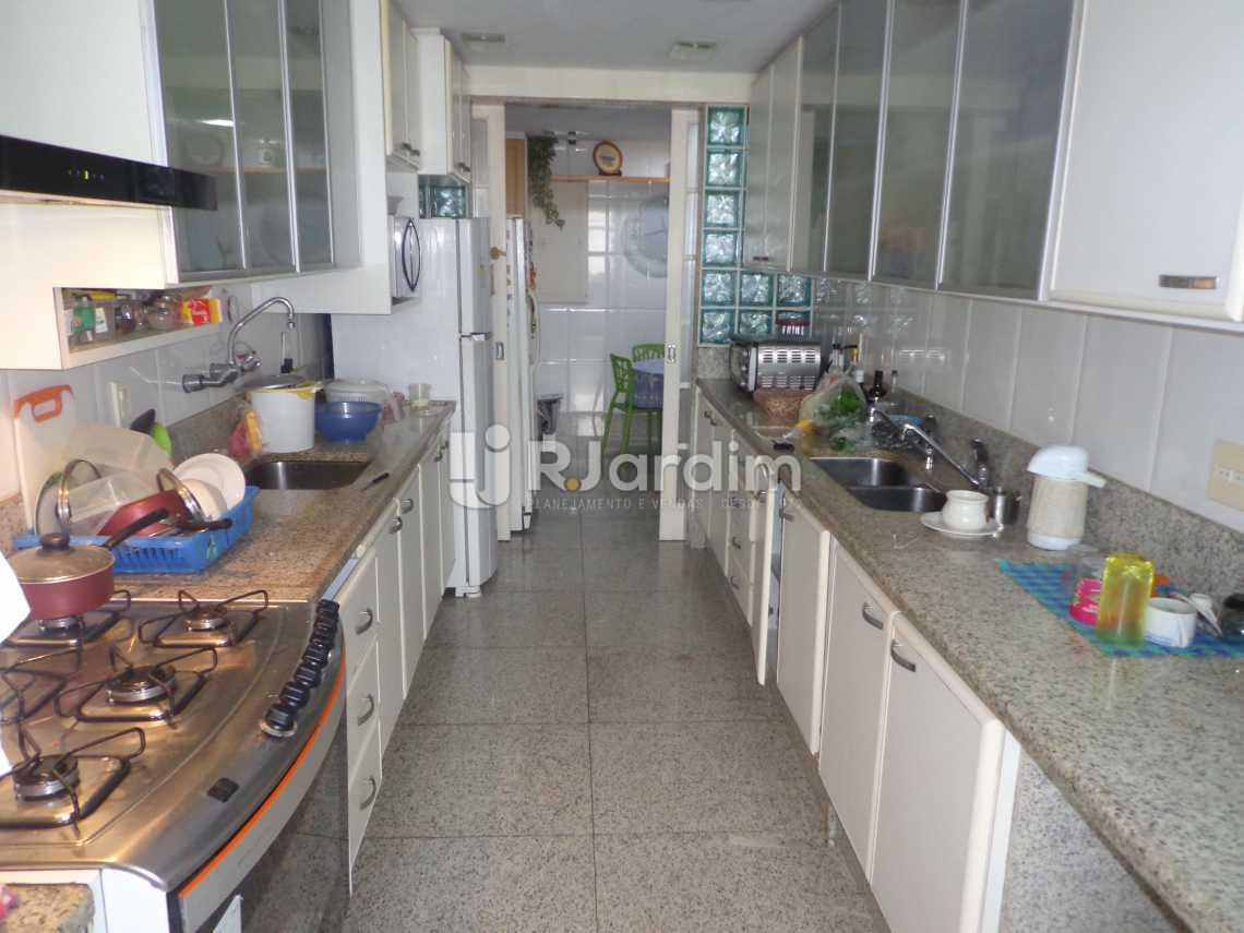 cozinha - Apartamento 5 Quartos À Venda Leblon, Zona Sul,Rio de Janeiro - R$ 12.000.000 - LAAP50023 - 13
