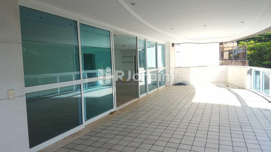 Varanda - Apartamento 5 quartos à venda Leblon, Zona Sul,Rio de Janeiro - R$ 16.000.000 - LAAP50025 - 3