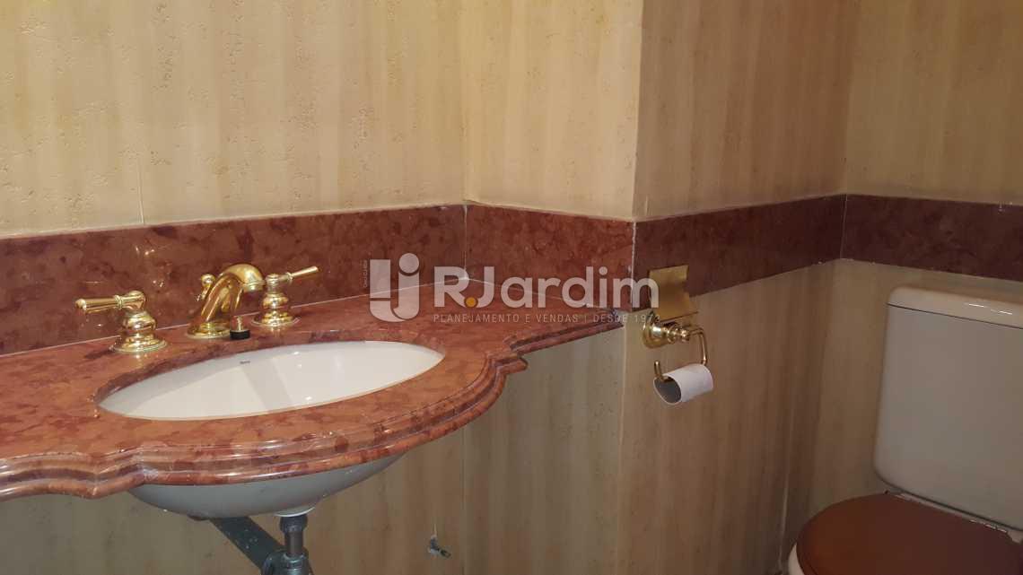 Lavabo - Apartamento 5 quartos à venda Leblon, Zona Sul,Rio de Janeiro - R$ 16.000.000 - LAAP50025 - 8