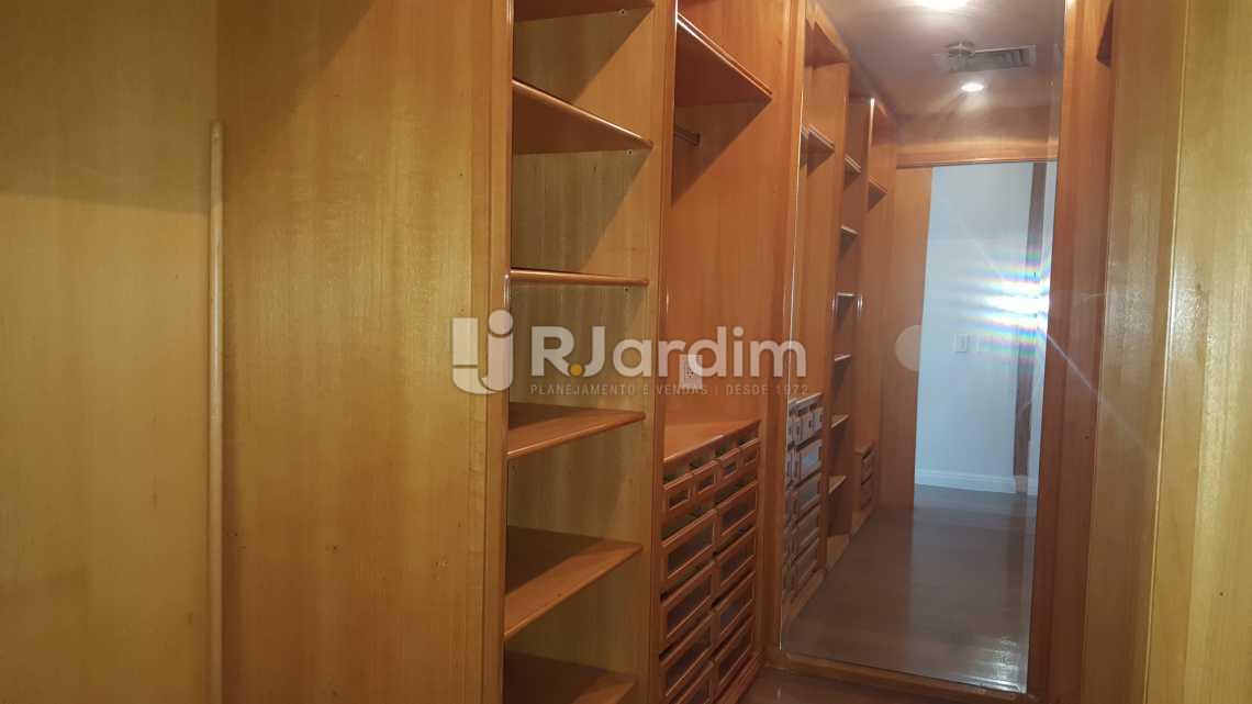 Closet Suíte master - Apartamento 5 quartos à venda Leblon, Zona Sul,Rio de Janeiro - R$ 16.000.000 - LAAP50025 - 13