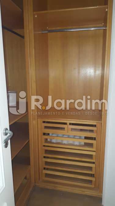 Closet Suíte 4 - Apartamento À VENDA, Leblon, Rio de Janeiro, RJ - LAAP50025 - 23