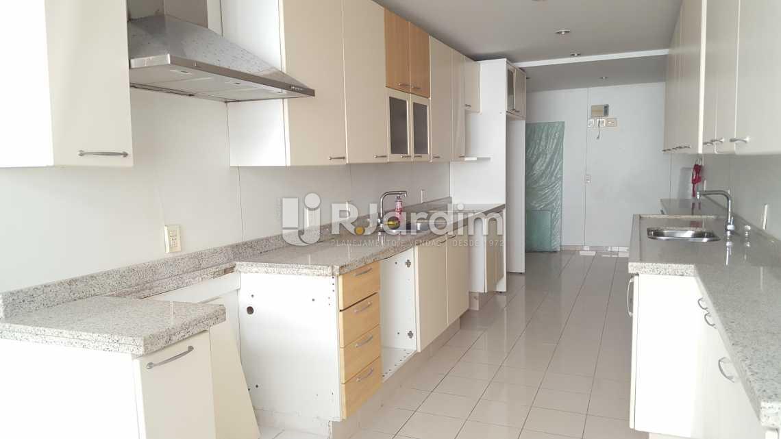 Cozinha - Apartamento À VENDA, Leblon, Rio de Janeiro, RJ - LAAP50025 - 26