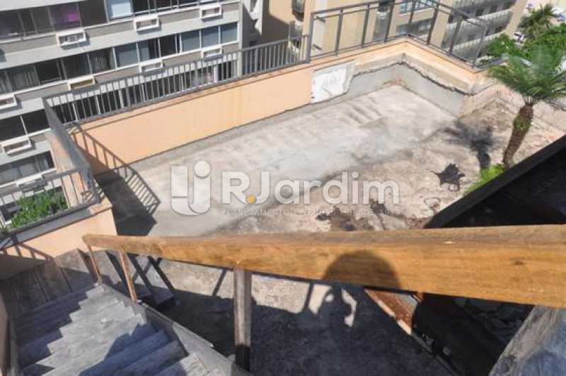 vista do segundo piso - Cobertura À VENDA, Leblon, Rio de Janeiro, RJ - LACO30127 - 5