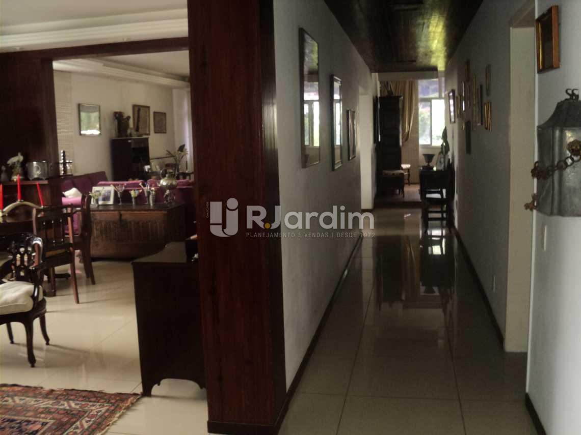 Circulação Entrada  - Apartamento à venda Rua Corcovado,Jardim Botânico, Zona Sul,Rio de Janeiro - R$ 4.400.000 - LAAP50027 - 6