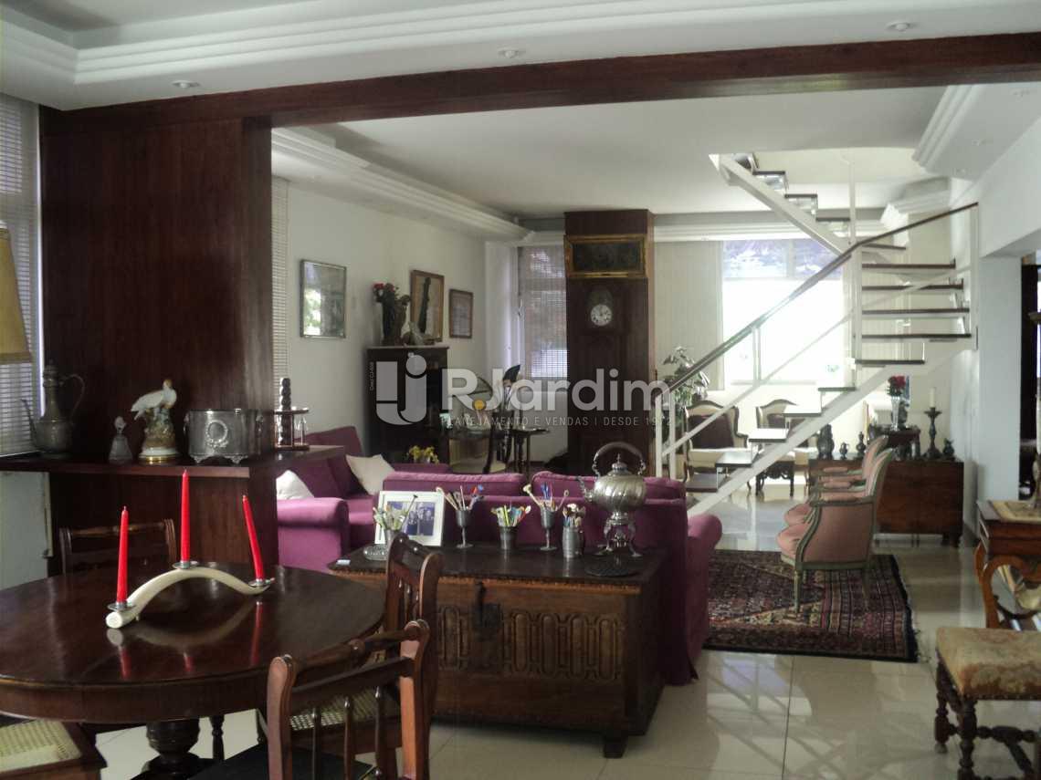 Sala  - Apartamento à venda Rua Corcovado,Jardim Botânico, Zona Sul,Rio de Janeiro - R$ 4.400.000 - LAAP50027 - 1