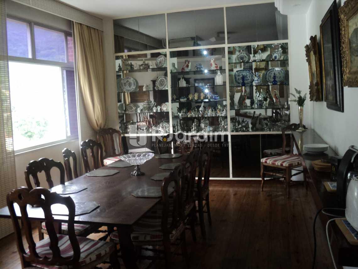 Sala de Jantar  - Apartamento À VENDA, Jardim Botânico, Rio de Janeiro, RJ - LAAP50027 - 7