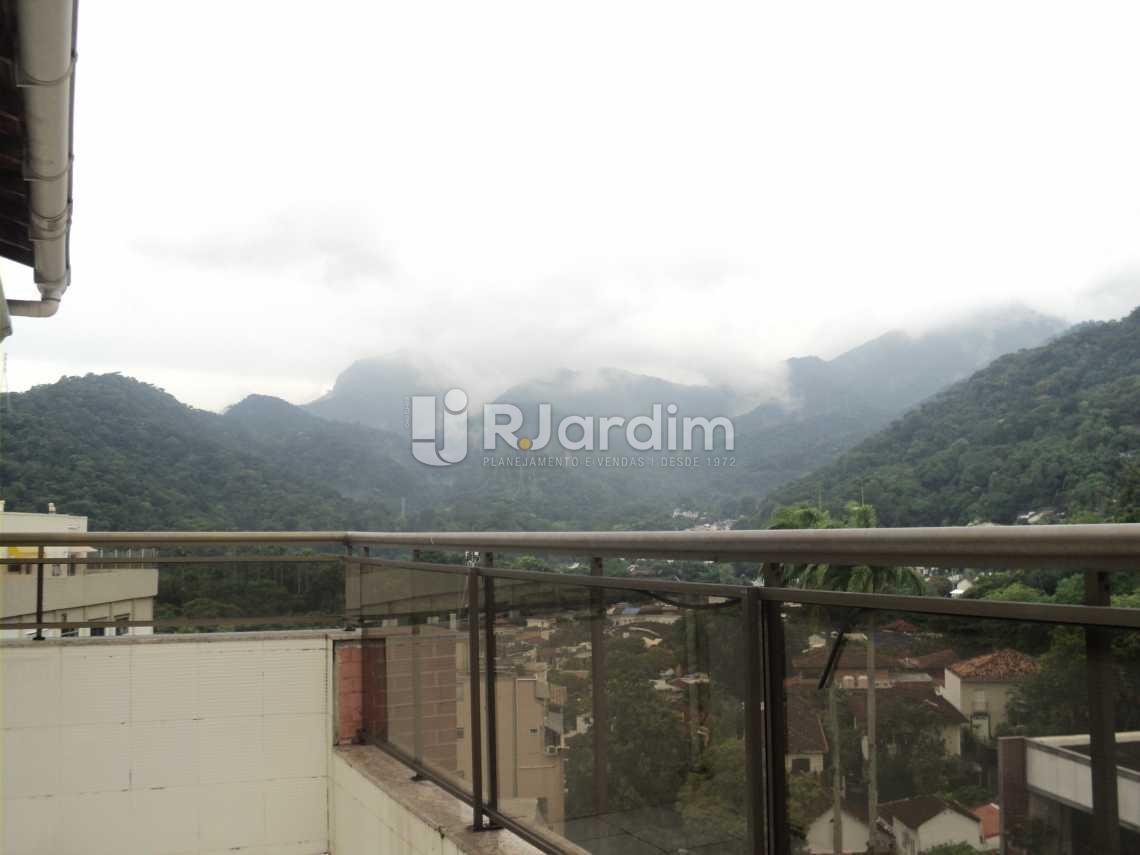 Terraço  - Apartamento à venda Rua Corcovado,Jardim Botânico, Zona Sul,Rio de Janeiro - R$ 4.400.000 - LAAP50027 - 16