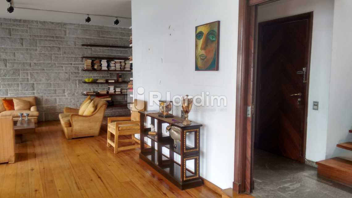 entrada social  - Imóveis Compra e Venda Lagoa 5 Quartos - LACO50013 - 9
