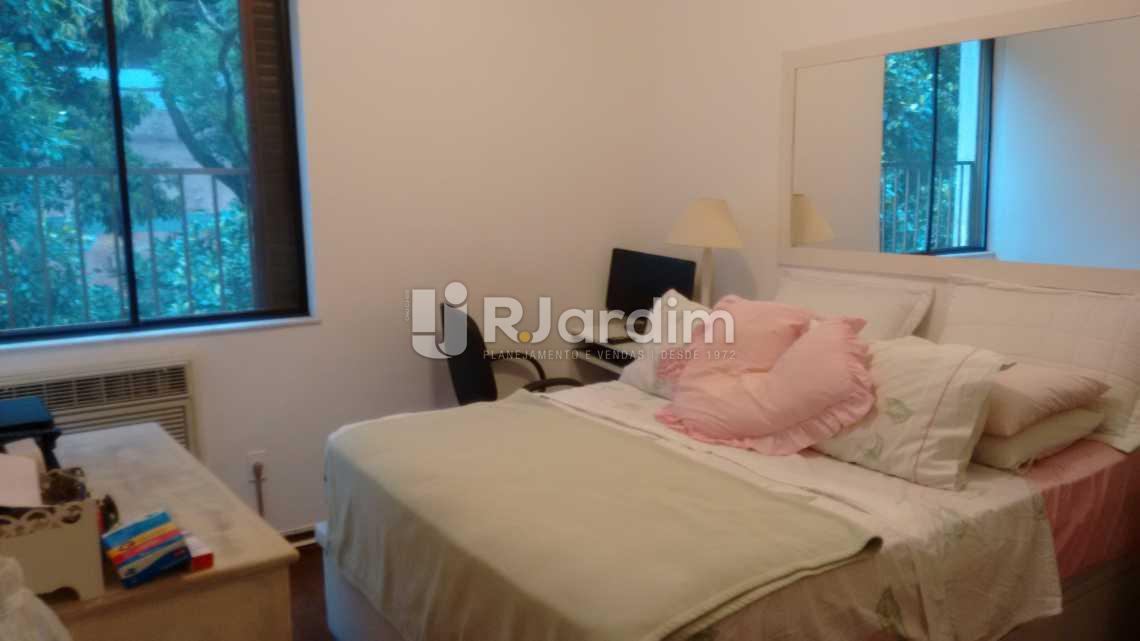 quarto  - Imóveis Compra Venda Avaliação Apartamento Leblon 3 Quartos - LAAP30943 - 8
