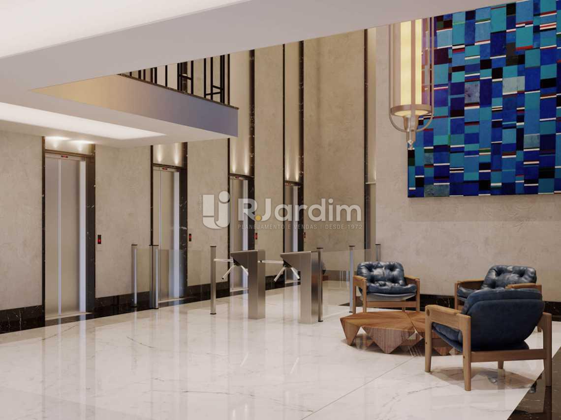 Torre-Lobby do centro empres - Loja Leblon, Zona Sul,Rio de Janeiro, RJ À Venda, 1108m² - LALJ00054 - 20