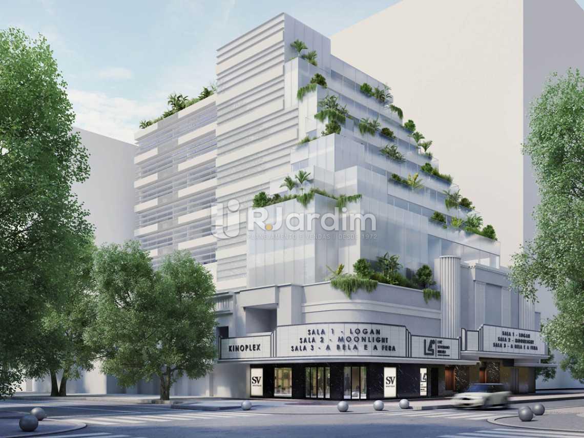 Fachada Diurna - Loja 1108m² à venda Leblon, Zona Sul,Rio de Janeiro - R$ 31.388.797 - LALJ00054 - 3