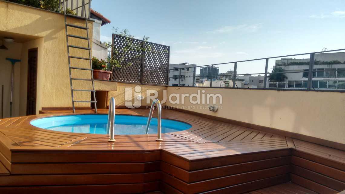 Piscina / sauna - Compra Venda Avaliação Imóveis Cobertura Ipanema 3 Quartos - LACO30131 - 5