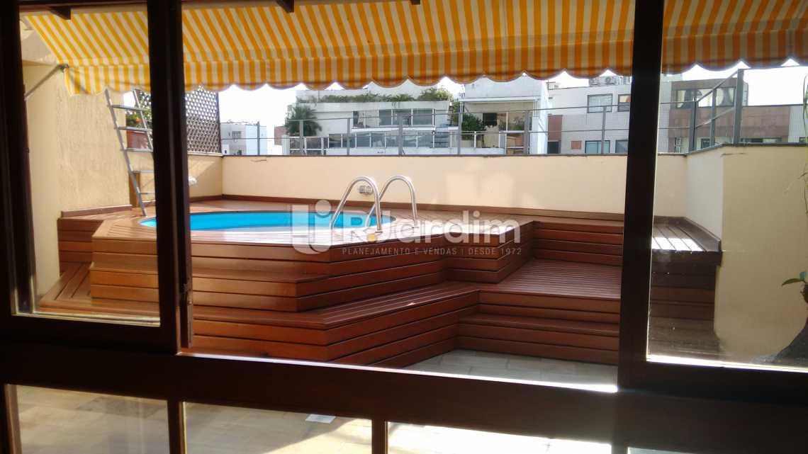 Piscina / deck - Compra Venda Avaliação Imóveis Cobertura Ipanema 3 Quartos - LACO30131 - 9