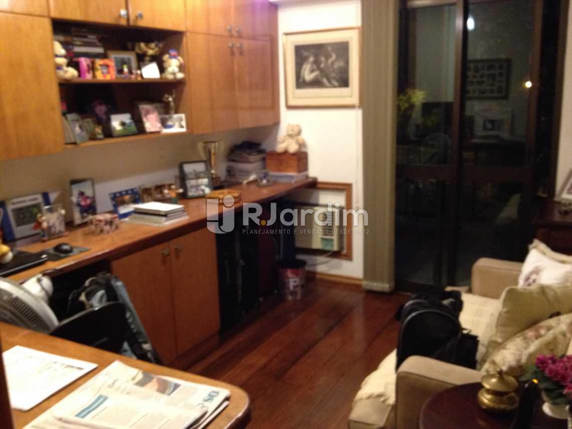 quarto, atualmente escritório - Apartamento Residencial Ipanema - LAAP40419 - 18