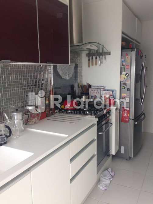 Cozinha Americana - Compra Venda Avaliação Apartamento 2 Quartos Humaitá - LAAP20696 - 12