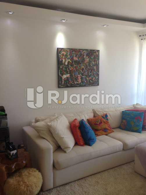 Sala - Compra Venda Avaliação Apartamento 2 Quartos Humaitá - LAAP20696 - 3
