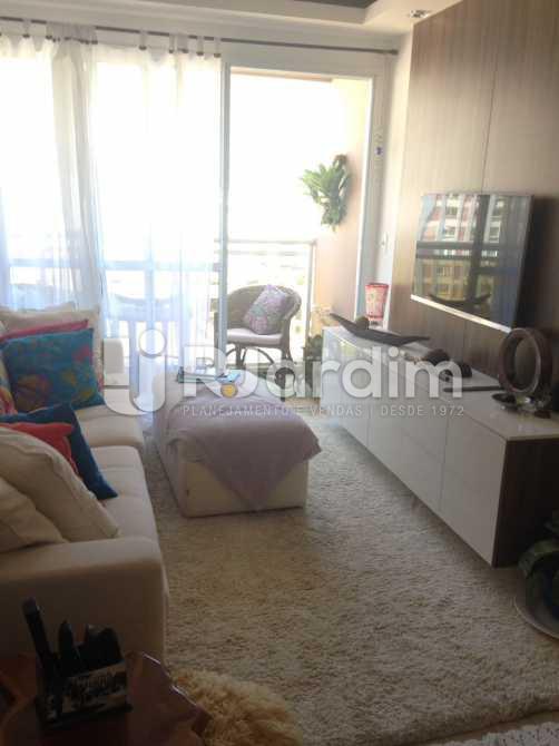Sala - Compra Venda Avaliação Apartamento 2 Quartos Humaitá - LAAP20696 - 1
