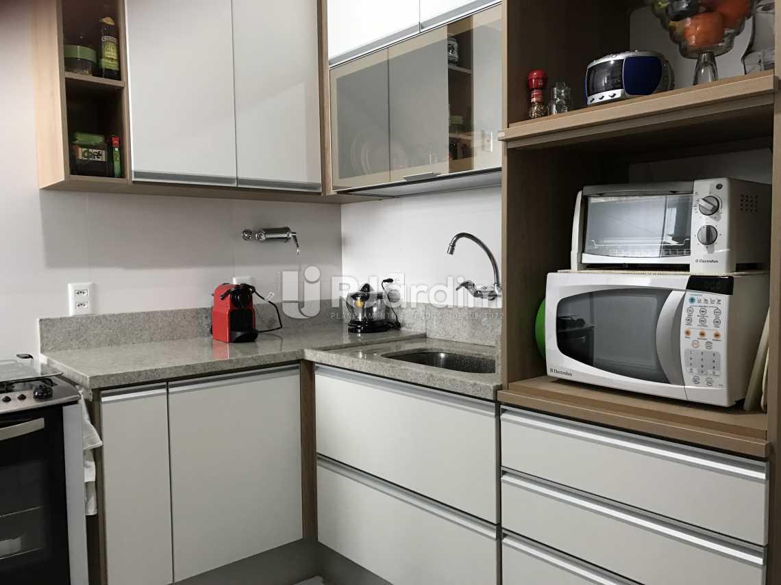 cozinha  - Cobertura Rua das Acácias,Gávea, Zona Sul,Rio de Janeiro, RJ À Venda, 4 Quartos, 224m² - LACO40076 - 12