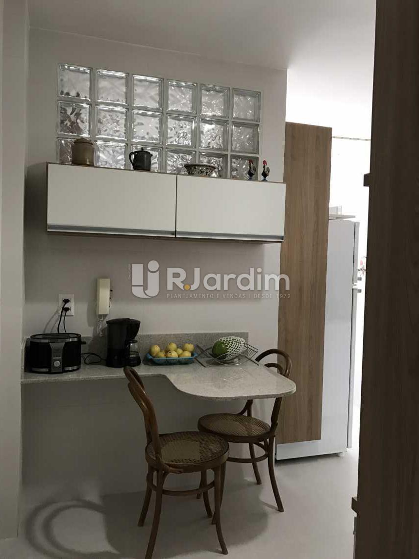 copa/cozinha - Cobertura Rua das Acácias,Gávea, Zona Sul,Rio de Janeiro, RJ À Venda, 4 Quartos, 224m² - LACO40076 - 19