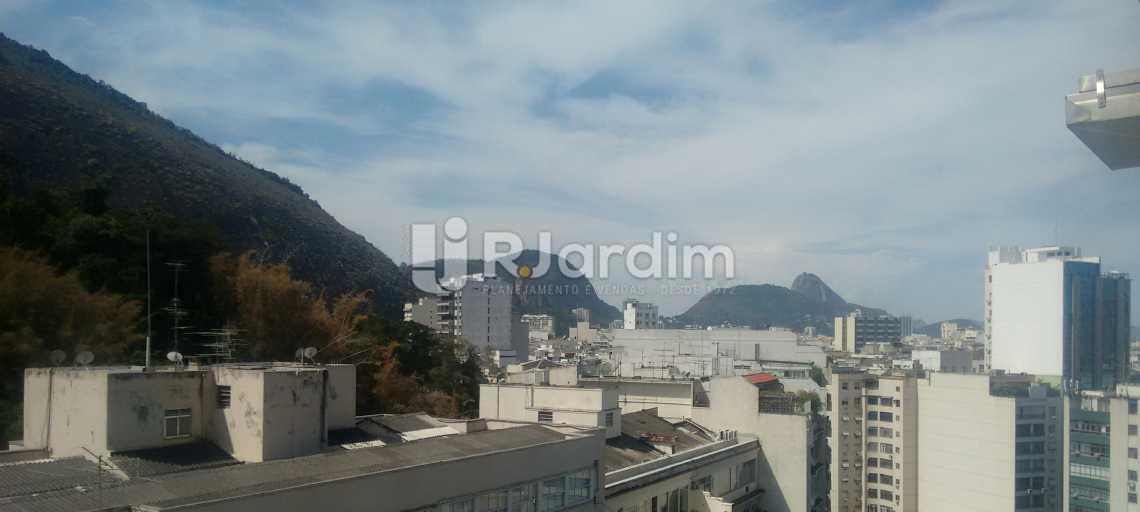 Vista da sala  - Imóveis Compra Venda Avaliação Apartamento Copacabana 4 Quartos - LAAP40425 - 3
