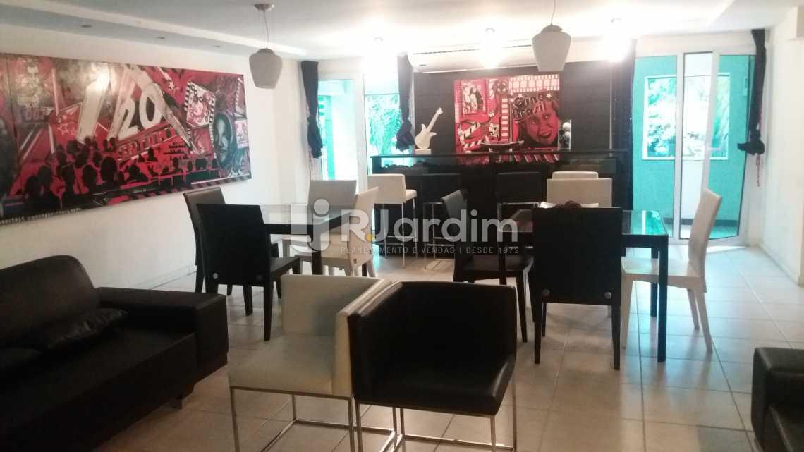 Salão gourmet - Apartamento À VENDA, Leblon, Rio de Janeiro, RJ - LAAP20704 - 1