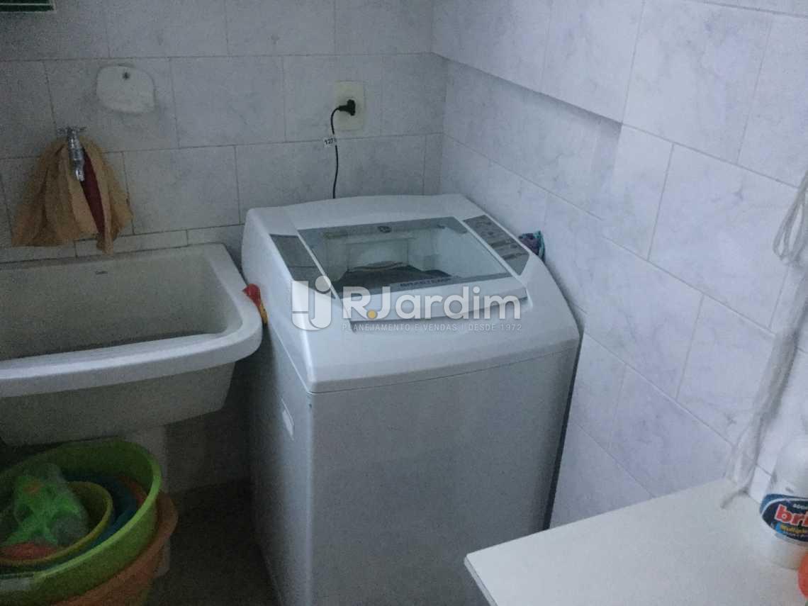 área de serviço - Apartamento À VENDA, Leblon, Rio de Janeiro, RJ - LAAP31032 - 22