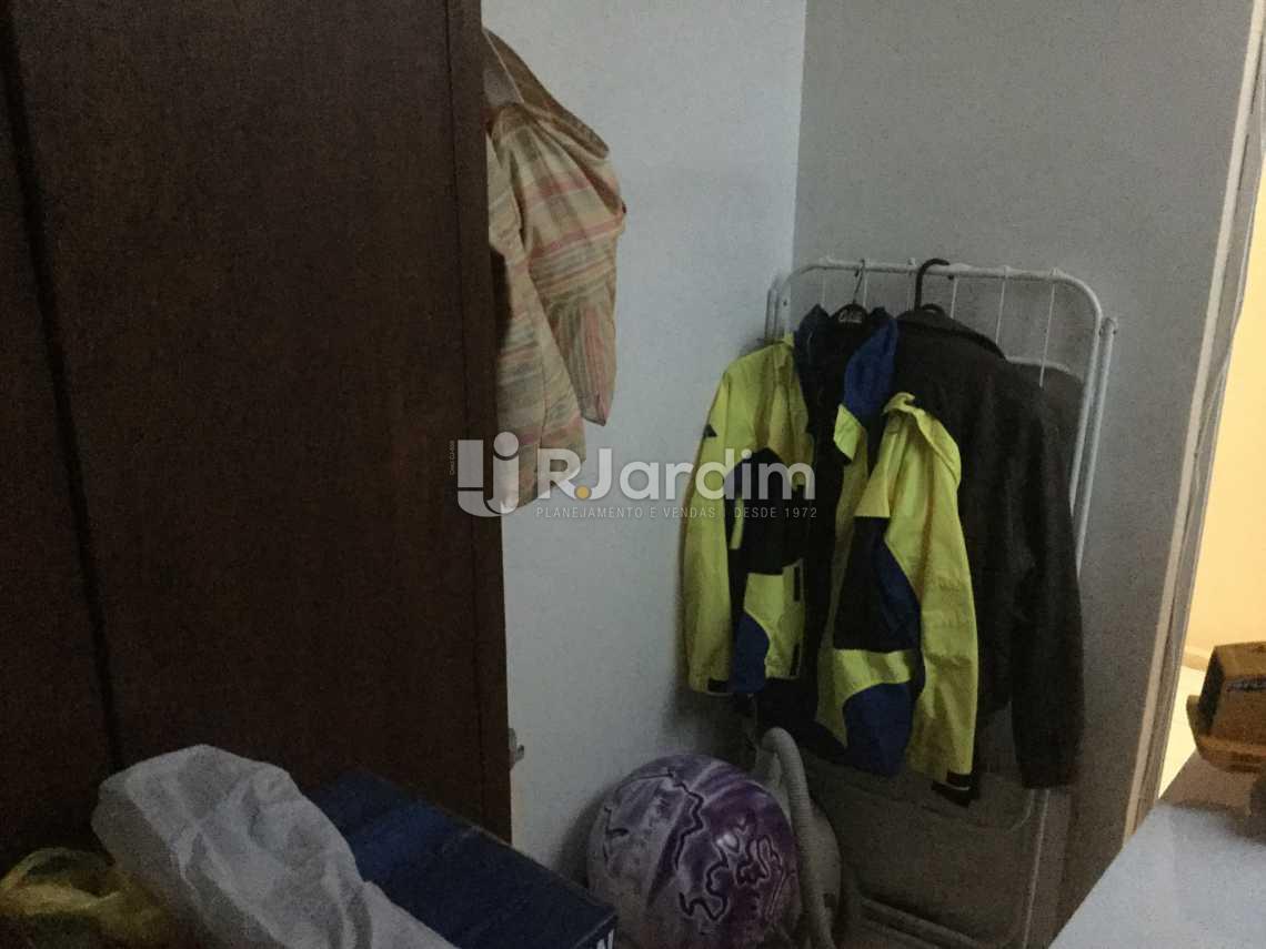 dependência - Apartamento À VENDA, Leblon, Rio de Janeiro, RJ - LAAP31032 - 23