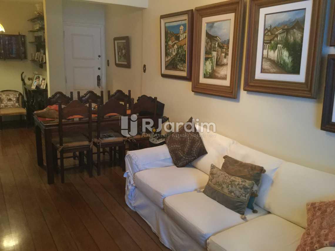 sala - Apartamento À VENDA, Leblon, Rio de Janeiro, RJ - LAAP20726 - 4