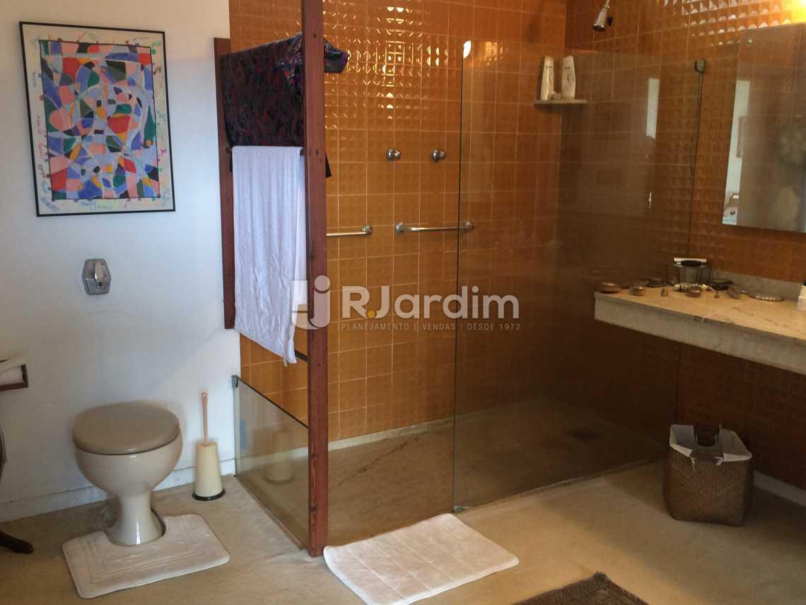 banheiro suite - Casa Rua Senador Simonsen,Jardim Botânico, Zona Sul,Rio de Janeiro, RJ À Venda, 6 Quartos, 419m² - LACA60007 - 18