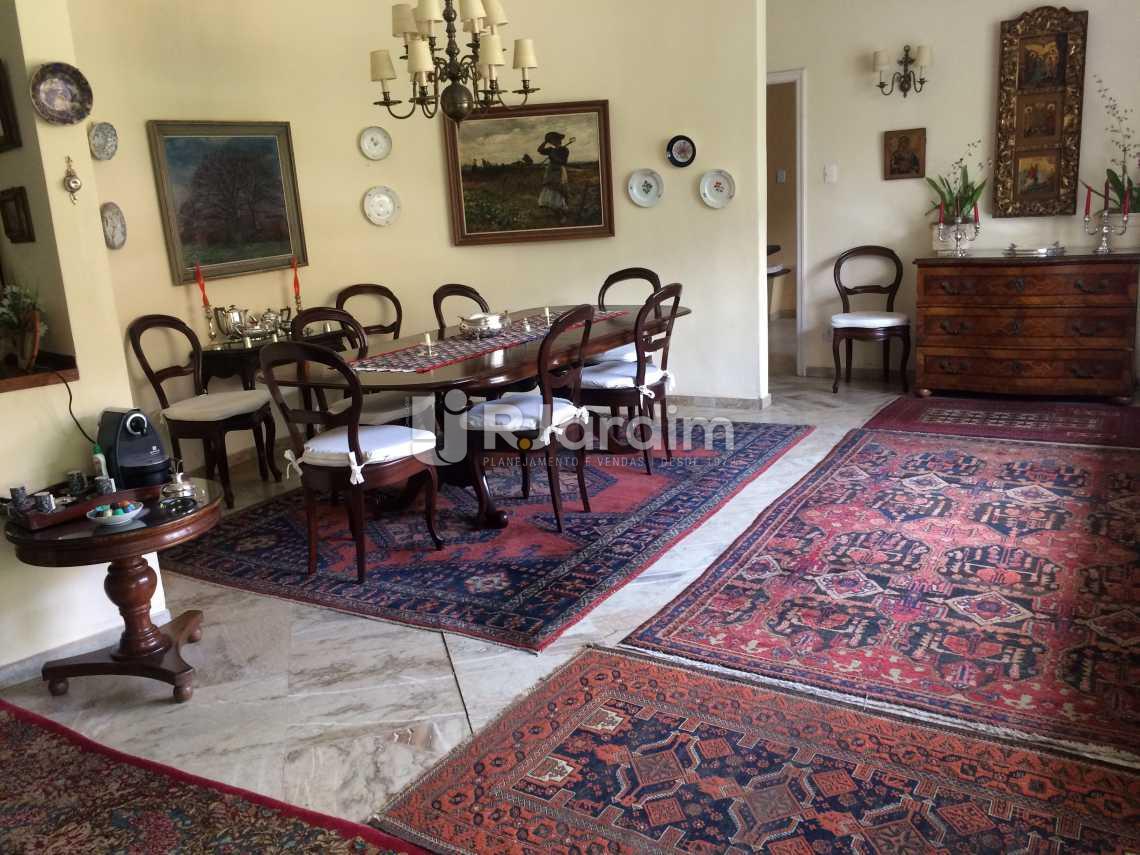 sala de jantar - Casa Rua Senador Simonsen,Jardim Botânico, Zona Sul,Rio de Janeiro, RJ À Venda, 6 Quartos, 419m² - LACA60007 - 6
