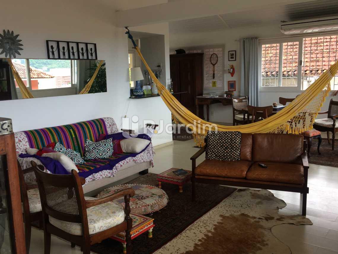 sala loft - Casa Rua Senador Simonsen,Jardim Botânico, Zona Sul,Rio de Janeiro, RJ À Venda, 6 Quartos, 419m² - LACA60007 - 19