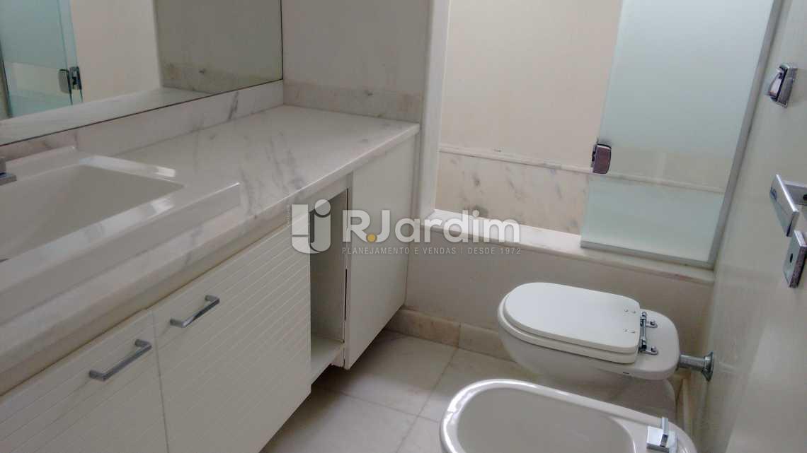 banheiro  - Imóveis Aluguel Apartamento São Conrado 4 Quartos - LAAP40456 - 15