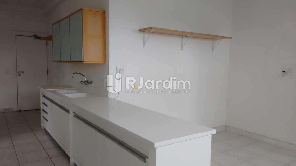 cozinha  - Imóveis Aluguel Apartamento São Conrado 4 Quartos - LAAP40456 - 21