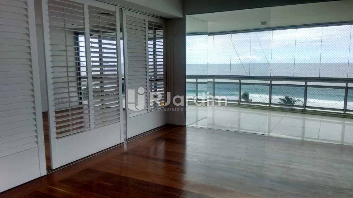Sala de jantar / varanda  - Imóveis Aluguel Apartamento São Conrado 4 Quartos - LAAP40456 - 14