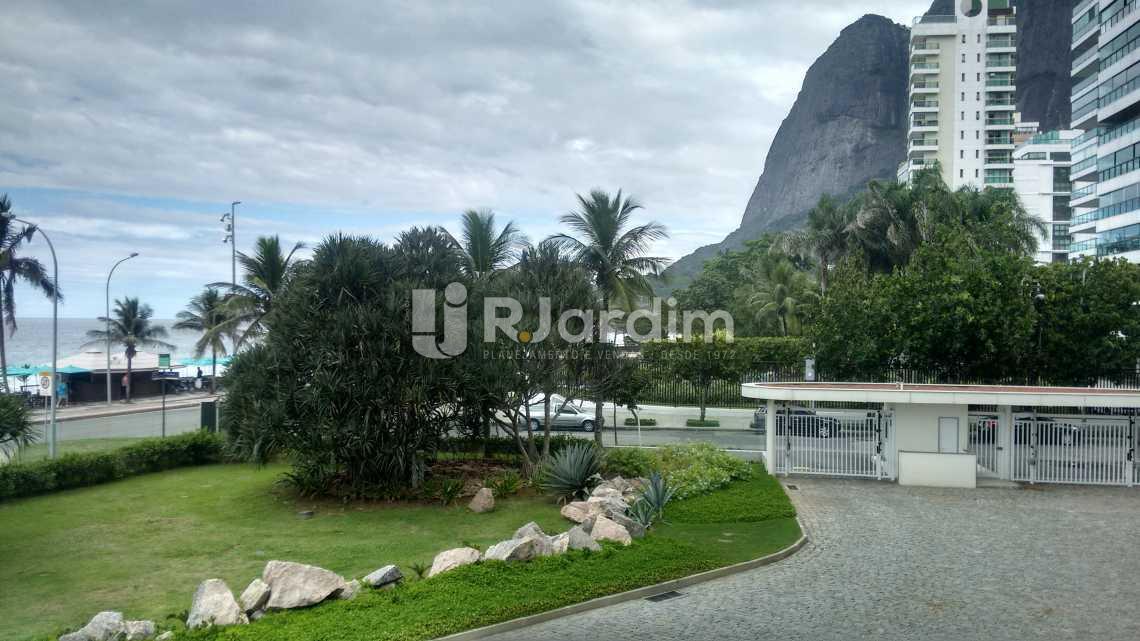 entrada /condominio  - Imóveis Aluguel Apartamento São Conrado 4 Quartos - LAAP40456 - 4