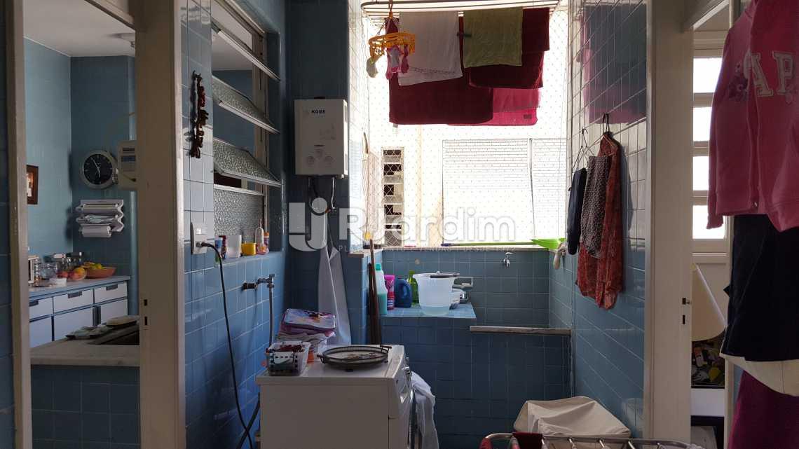 Área de serviço - Apartamento À VENDA, Copacabana, Rio de Janeiro, RJ - LAAP40458 - 17